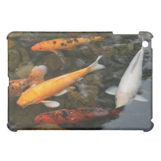 Koi Fish In Pond Photograph Cover For The iPad Mini