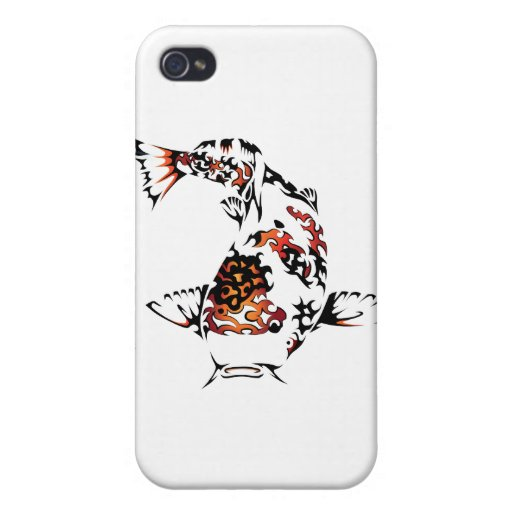 Koi Fish Cover For iPhone 4