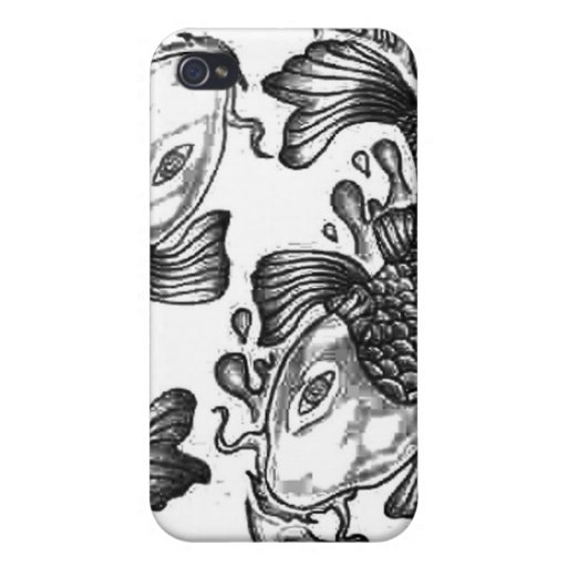 Koi Fish Cases For iPhone 4