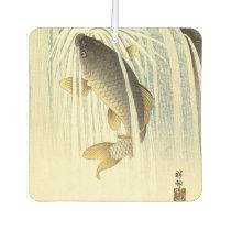 Koi Fish Japanese Vintage Air Freshener