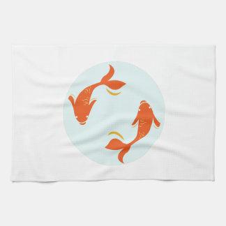 Koi Fish Towel