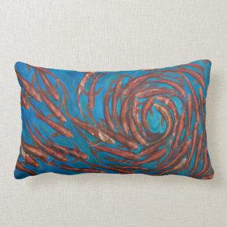 Koi Fish Lumbar Pillow