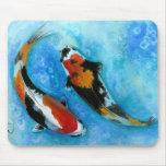 Koi Fish Mousepads