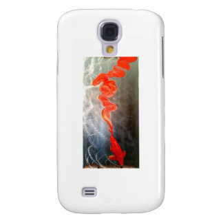 Koi fish on metal 'Breaking Free' Samsung Galaxy S4 Cover