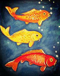 orange goldfish posters photo prints zazzle