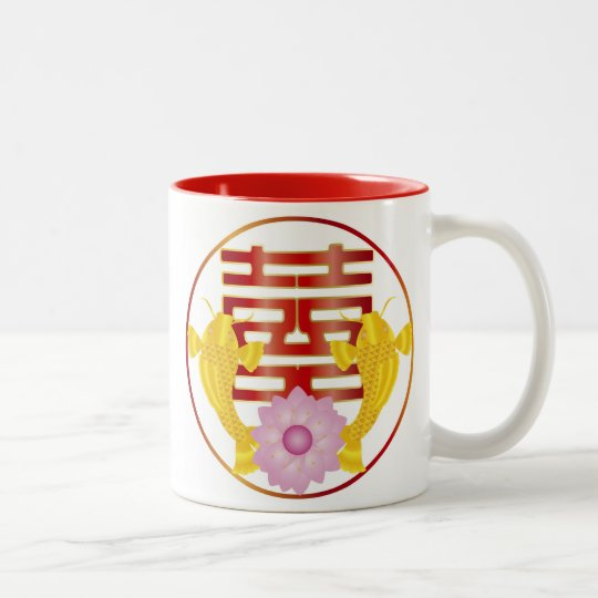 Koi Fish Pair Wedding Symbol Mug