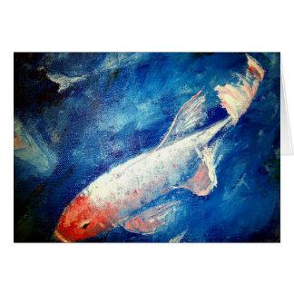 Koi Fish Palette Card