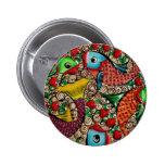 Koi Fish Pinback Button