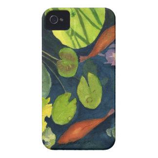 Koi FIsh Pond iPhone 4 Cover