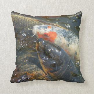 Koi Fish Pond Lake Pillow