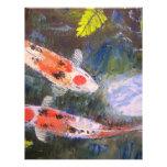 Koi Fish Pond Letterhead