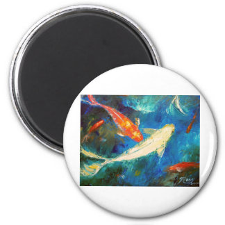 Koi Fish Pond Magnet