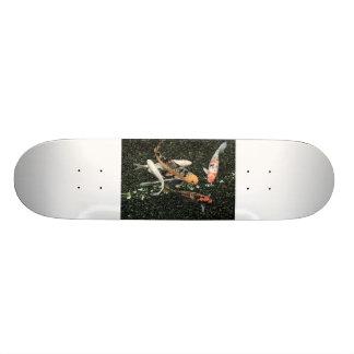 Koi Fish Pond Skateboard