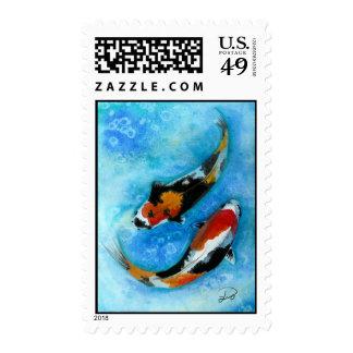 Koi Fish Stamps