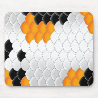 Koi Fish Scales Mouse Pad
