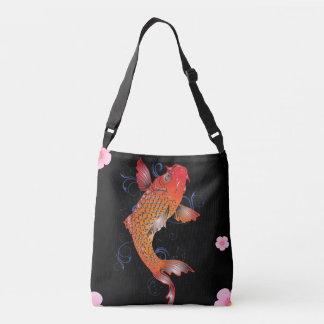 Koi Fish Sealife Crossbody Bag