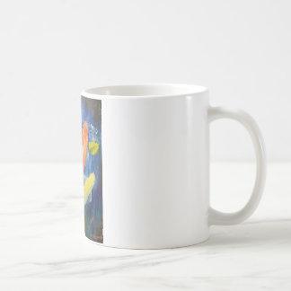 Koi Fish Swimming in Pond Classic White Coffee Mug