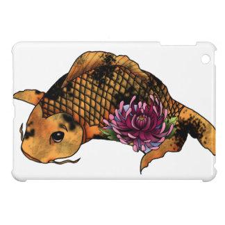 Koi fish tattoo design iPad mini case