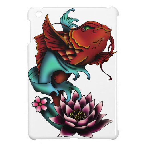 Koi Fish Tattoo Design Ipad Mini Covers Zazzle