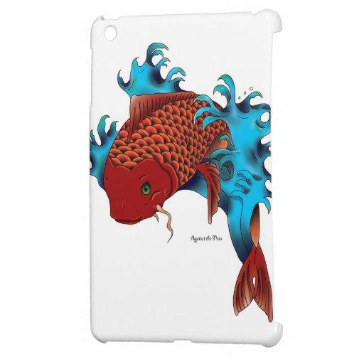 Koi Fish Tattoo Design White Ipad Mini Case Zazzle