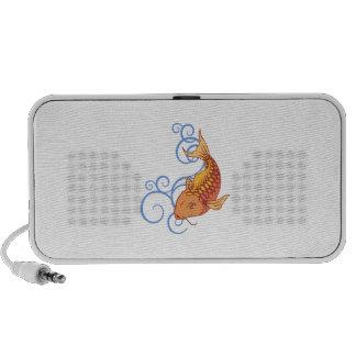 KOI FISH WATER SWIRLS iPhone SPEAKERS