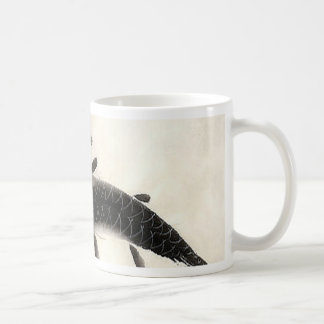 Koi Fish Watercolor Coffee Mug