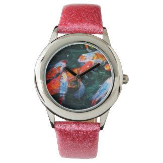 Koi Fish Wrist Watches