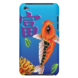 Koi Fish & Yellow Lotus iPod Touch Case