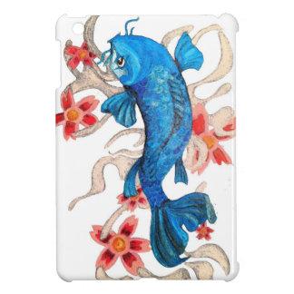 Koi Floral Art Mini Ipad Case Cover For The iPad Mini