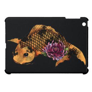 Koi fush tattoo design iPad mini covers