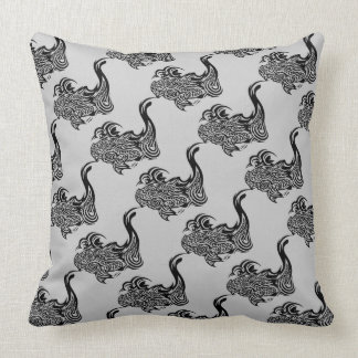 Koi Grade A Cotton Throw Pillow 20x20