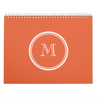 Koi High End Colored Personalized Calendar