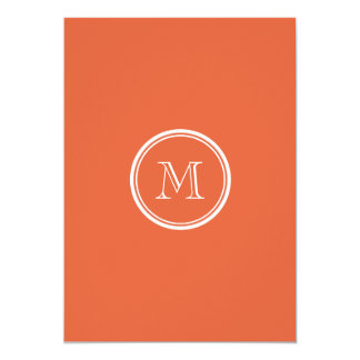 Koi High End Colored Personalized 5x7 Paper Invitation Card