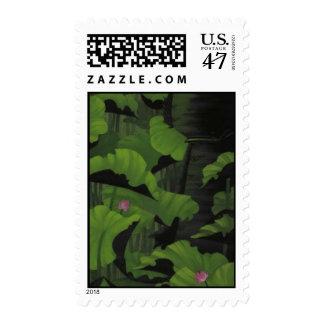Koi Hunter Foilage Stamp