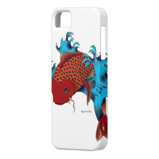 Koi in water iPhone SE/5/5s case