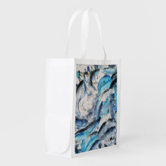 Koi Inverted Grocery Bag