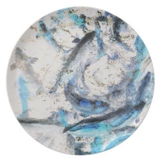 Koi Inverted Melamine Plate
