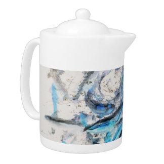 Koi Inverted Teapot