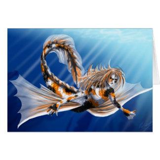 Koi Mermaid Cards