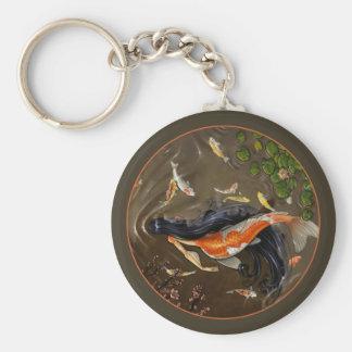 Koi Mermaid Key Chain