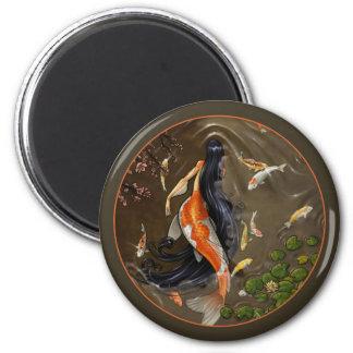 Koi Mermaid Magnet