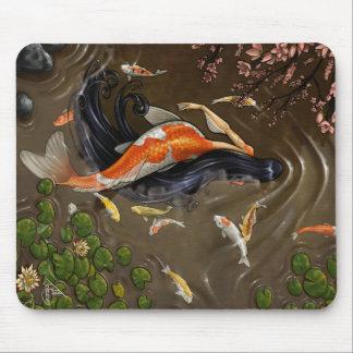 Koi Mermaid Mousepad