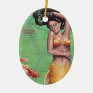 Koi Mermaid Ornament Koi Fish Ornament
