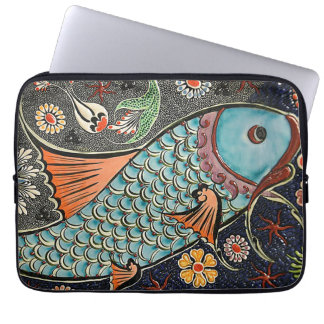Koi Mosaic Laptop Sleeve