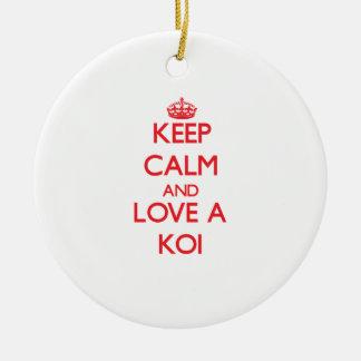 Koi Ornaments