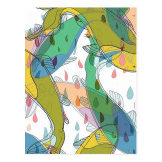 Koi Patterns - Postcards