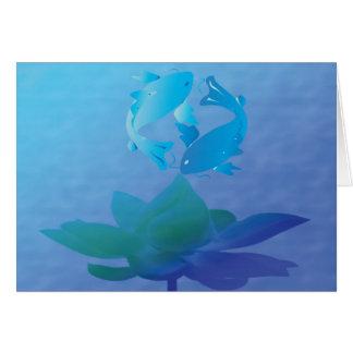 Koi Peace Card