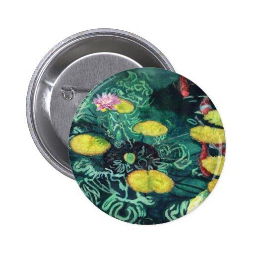 koi pinback buttons