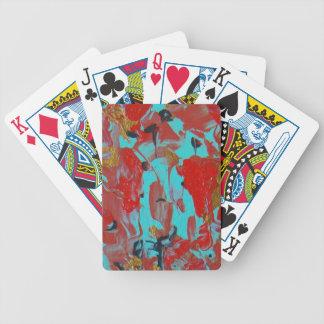 Koi Pond 2 Bicycle Playing Cards
