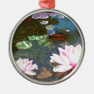 Koi pond ornaments keepsake ornaments zazzle for Fish pond ornaments
